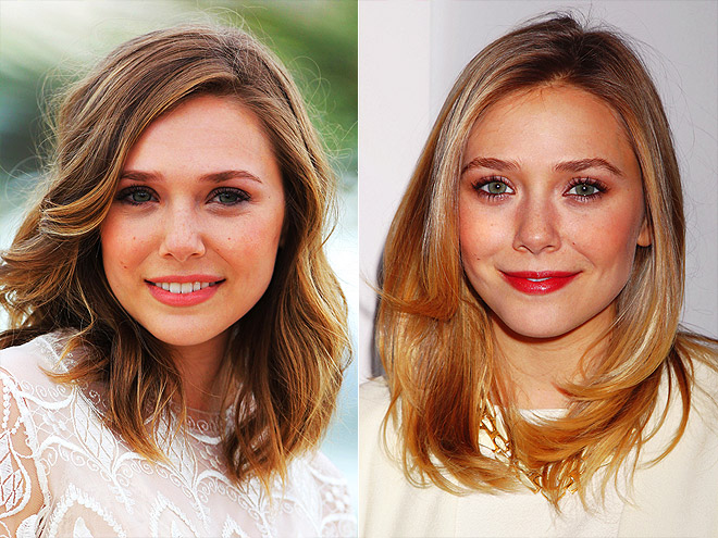Elizabeth Olsen hasn't changed her hair drastically, but the lighter dimensions have added volume to frame her face