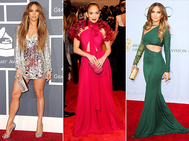She's single ... and ready to sparkle! Though Jennifer Lopez had an emotional year, she's made her many red carpet appearances count – whether she was flashing some leg at the Grammys, leading the pack at the Met Gala or greeting the royals in high style at the BAFTA Gala.