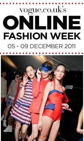Vogue UK Online Fashion Week
