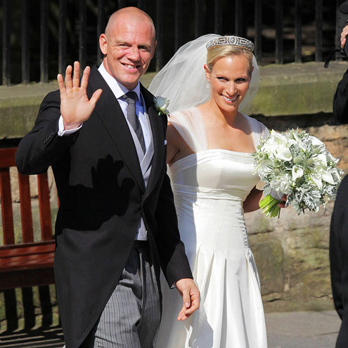 Zara Philips and Mike Tindall