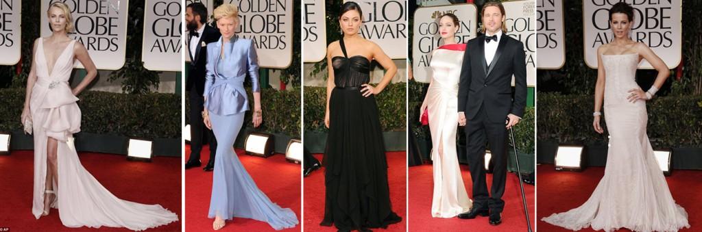 Golden Globes Fashion 2012