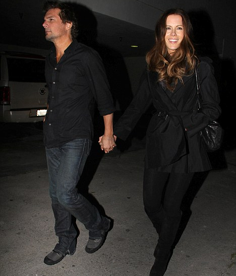 Kate Beckinsale and her husband Len Wiseman