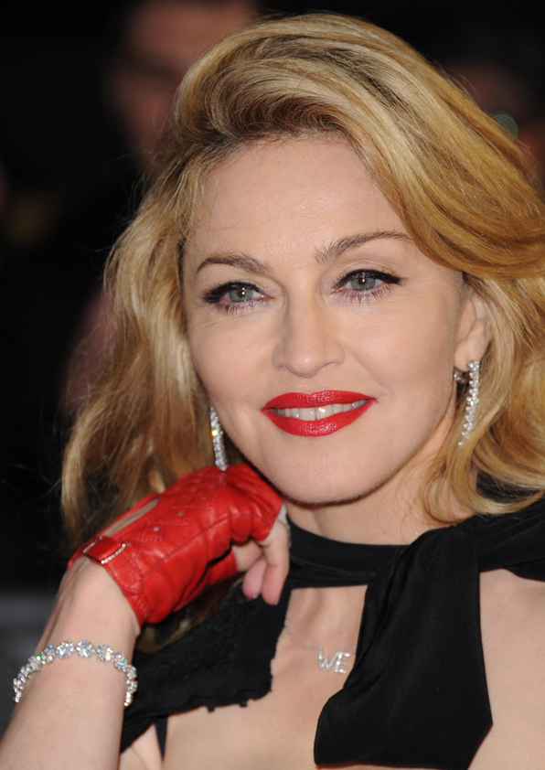 Madonna - Van Cleef & Arpels - Photo by  Jon Furniss - Getty Images