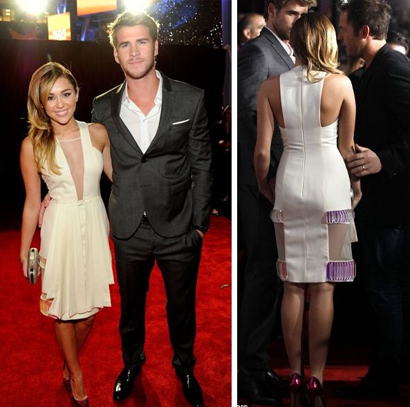 Miley Cyrus and her BF Liam Hemsworth