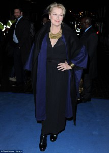 Meryl Streep at The Iron Lady Premiere