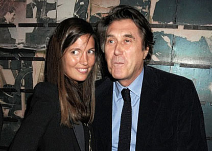 <b>Bryan Ferry Marries...</b>