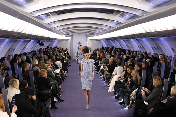 chanel couture pan am