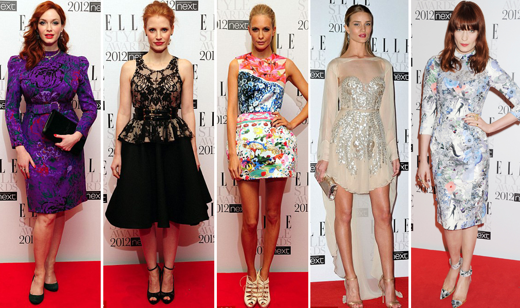 2012 Elle Style Awards Beauty And The Dirt