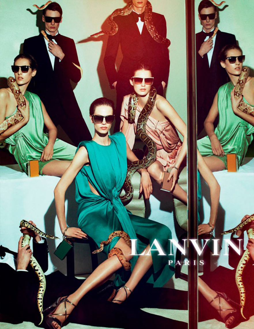 <b>Lanvin Slithers for ...</b>