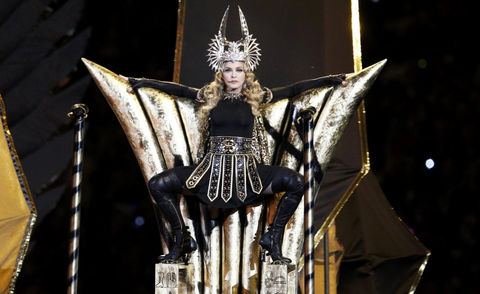 Madonna's performance at last night's Superbowl