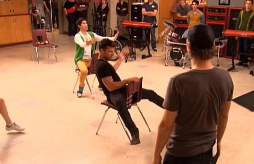 Ricky Martin in Glee