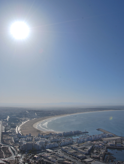Agadir beachfront