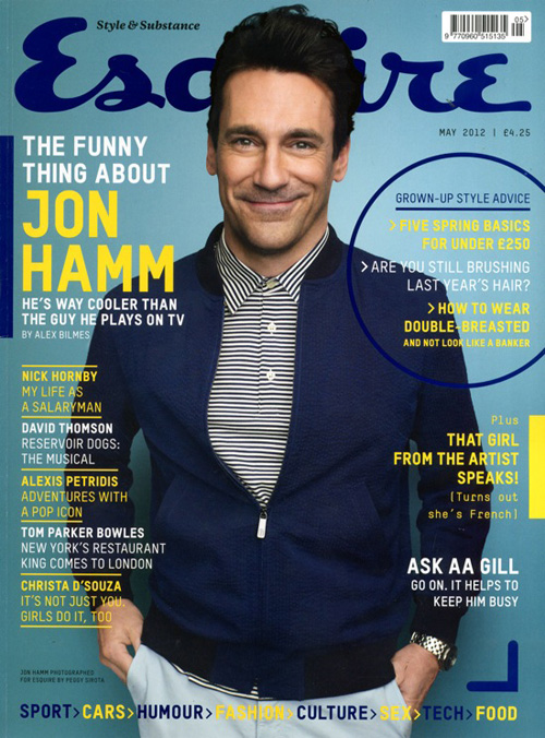 <b>Jon Hamm for Esquire...</b>