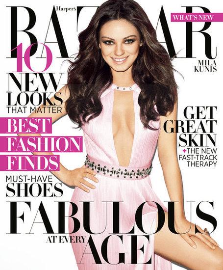 Mila Kunis for Harper's Bazaar