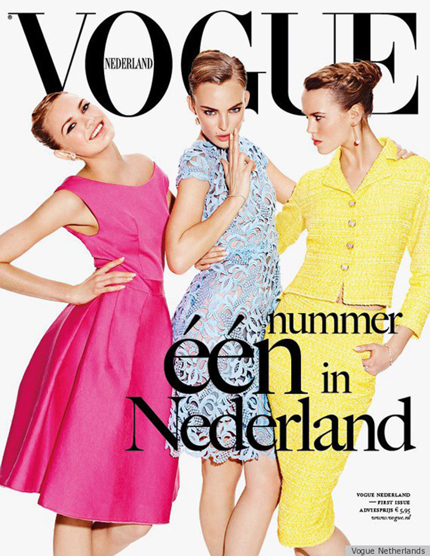 <b>Dutch Vogue Launches...</b>