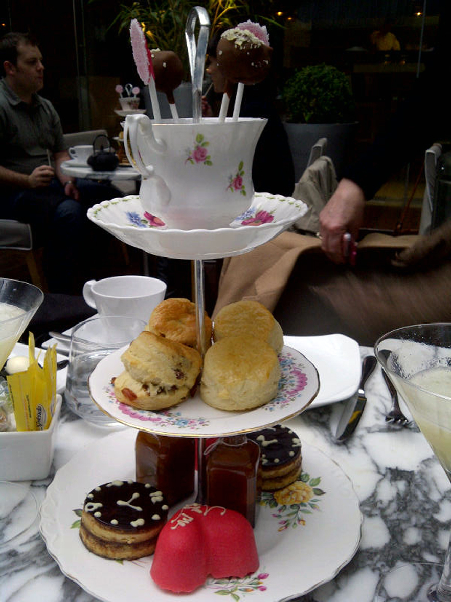 <b>A Mad Hatter's Tea...</b>