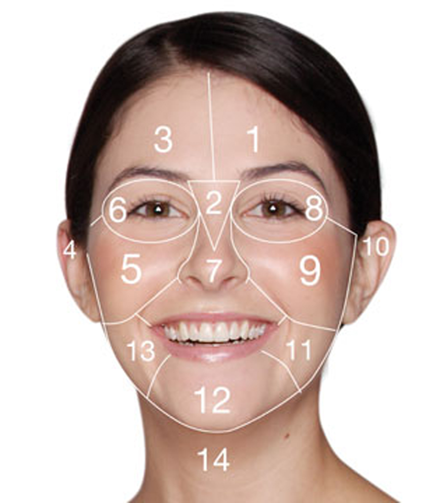 <b>Facial Zones: Breako...</b>