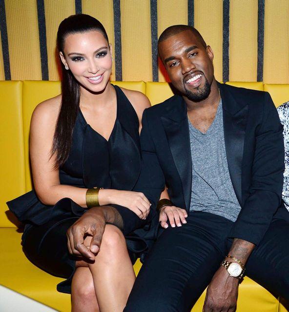 <b>Kim and Kanye Step O...</b>