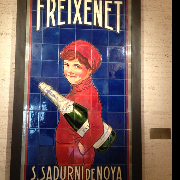 Tiled Image of Freixenet in their HQ