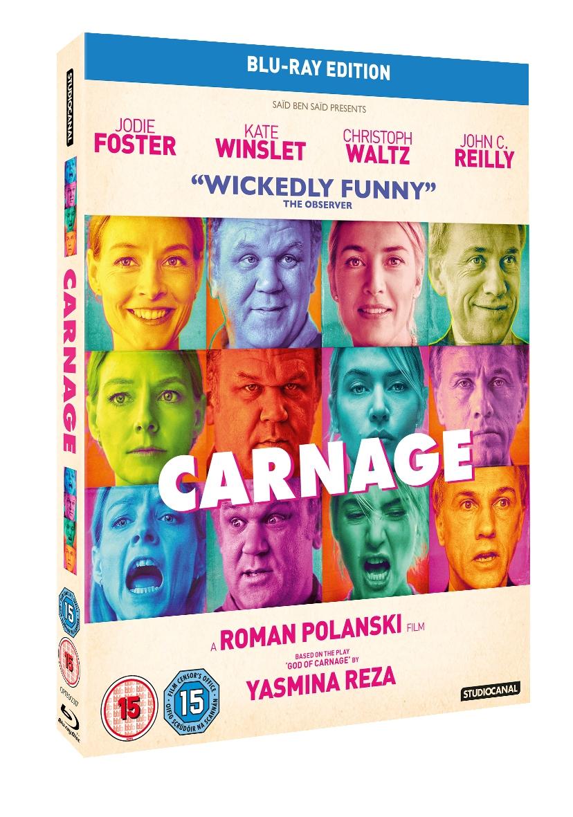 <b>WIN: Carnage on DVD...</b>
