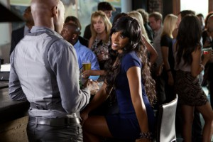 The gorgeous Kelly Rowland makes an appearance in 'Think Like a Man' - out on Friday!