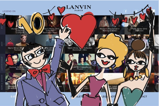 <b>LANVIN Launches Inte...</b>