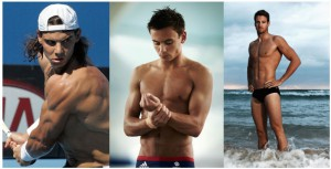 Rafael Nadal, Tom Daley, James Magnussen