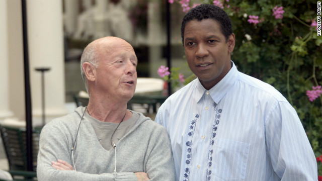 Tony Scott with Denzel Washington