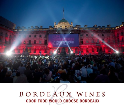 Bordeaux Wines as the official drinks sponsor of Film4 Summer Screen