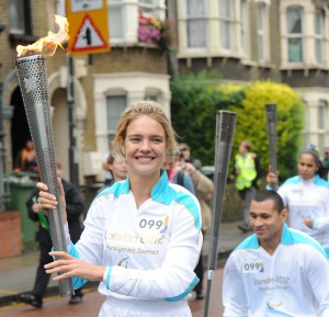 Natalia Vodianova Carries the Paralympic Torch