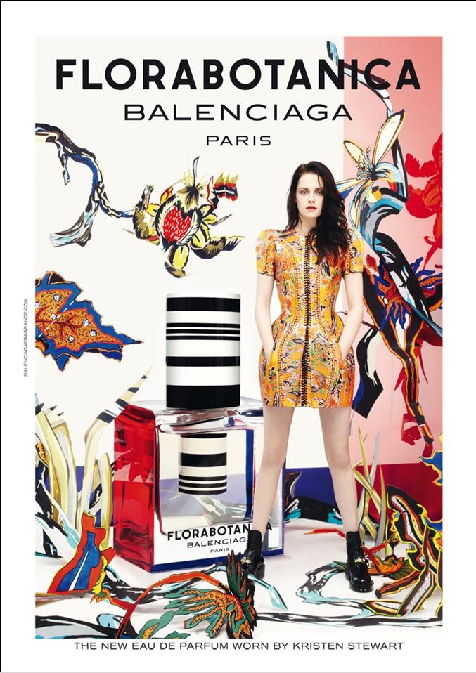 Kirsten Stewart is the face of Florabotanica