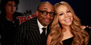 Mariah Carey with Spike Lee, he directs Bad 25