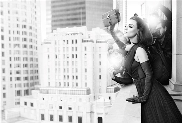 <b>Mila Kunis Dior Camp...</b>