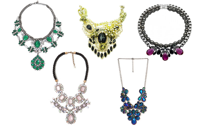 <b>Statement Necklaces...</b>