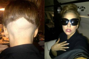 Lady Gaga&#039;s New Shaved Do