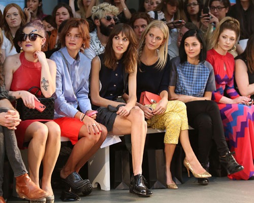 <b>LFW Front Row Fashio...</b>