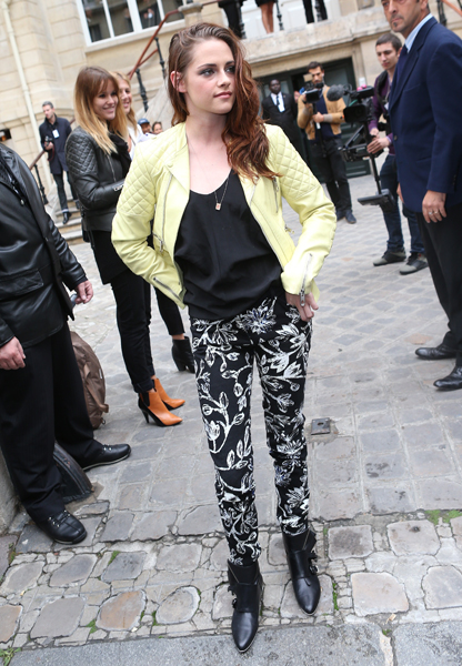 <b>Kristen Stewart At P...</b>