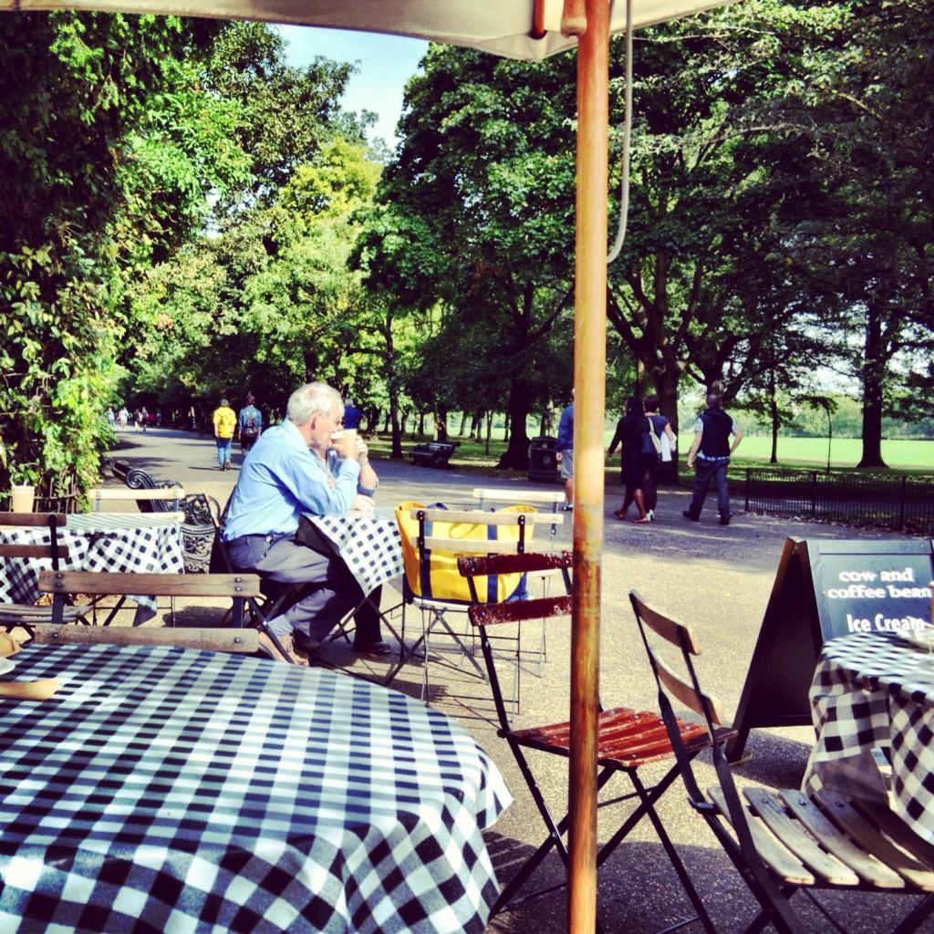 Cafe at Regents Park