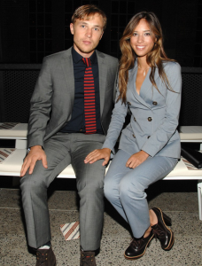 Kelsey Chow and William Moseley FROW at Tommy Hilfiger