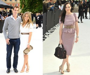 Andy Murray, Kim Sears, Victoria Pendleton