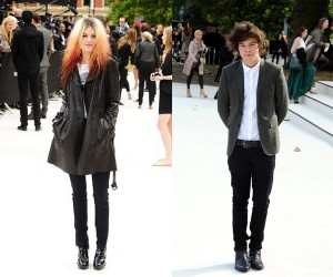 Alison Mosshart and Harry Styles