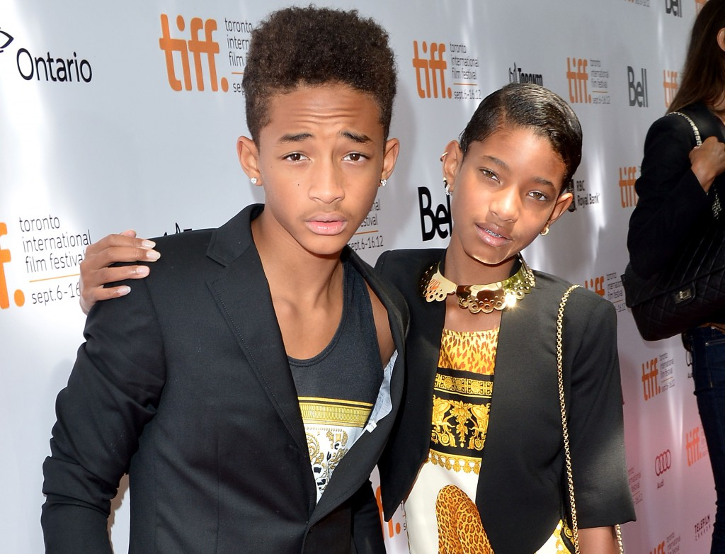 Jaden & Willow Smith at the  2012 Toronto International Film Festival