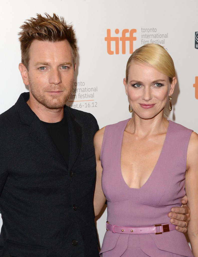 "Ewan McGregor and Naomi Watts at ""The Impossible"" Premiere Toronto International Film Festival"