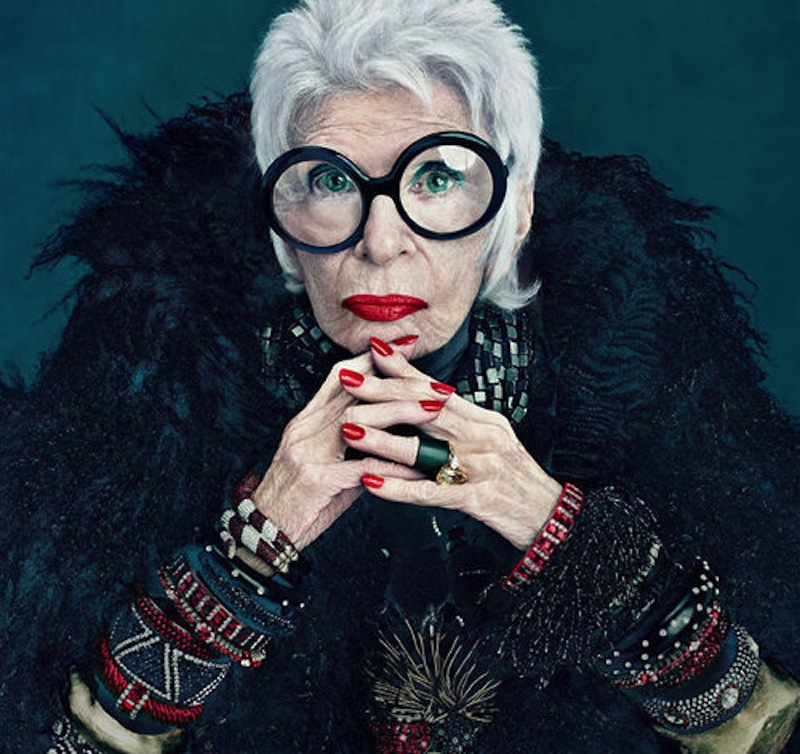 <b>Iris Apfel Launches ...</b>