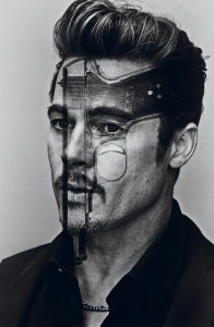 Brad Pitt for Interview Magazine shot by Steven Klein