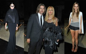 Giovanna Battaglia, Rachel Zoe and Rodger Berman, Gaia Repossi