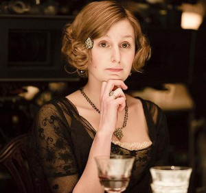 Lady Edith in Downton Abbey