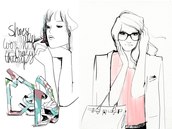 Garance Garance Doré To Sell Her Fashion Illustrations