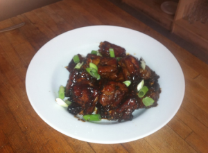 Jourdan Dunn's Sweet and Sour Ribs via Twitter