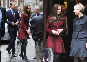 Kate Middleton in Paule Ka